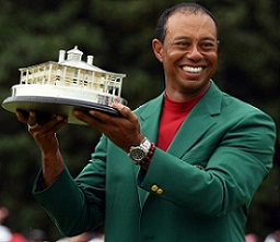 Tiger Woods' won 2019 Masters leads ranking of top 15 golfers of the decade