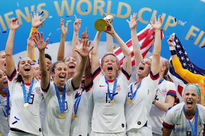Estados Unidos bate Holanda e conquistam título da Copa do Mundo feminina pela quarta vez
