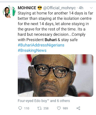 Lockdown extension in nigeria