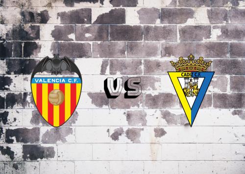 Valencia vs Cádiz  Resumen