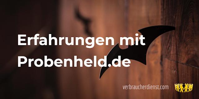Titel: Mastercard erhalten? Erfahrungen mit Probenheld.de
