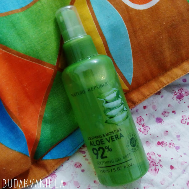 Nature Republic Aloe Vera 92% Soothing Gel Mist