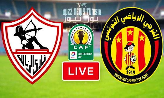 Match Esperance Sportive De Tunis (Taraji) VS Zamalek SC Live Stream
