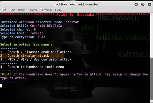 how to hack wifi password - KaliTut