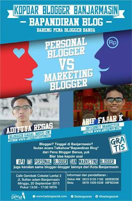 Serunya Kopdar Blogger di acara BAPANDIRAN BLOG