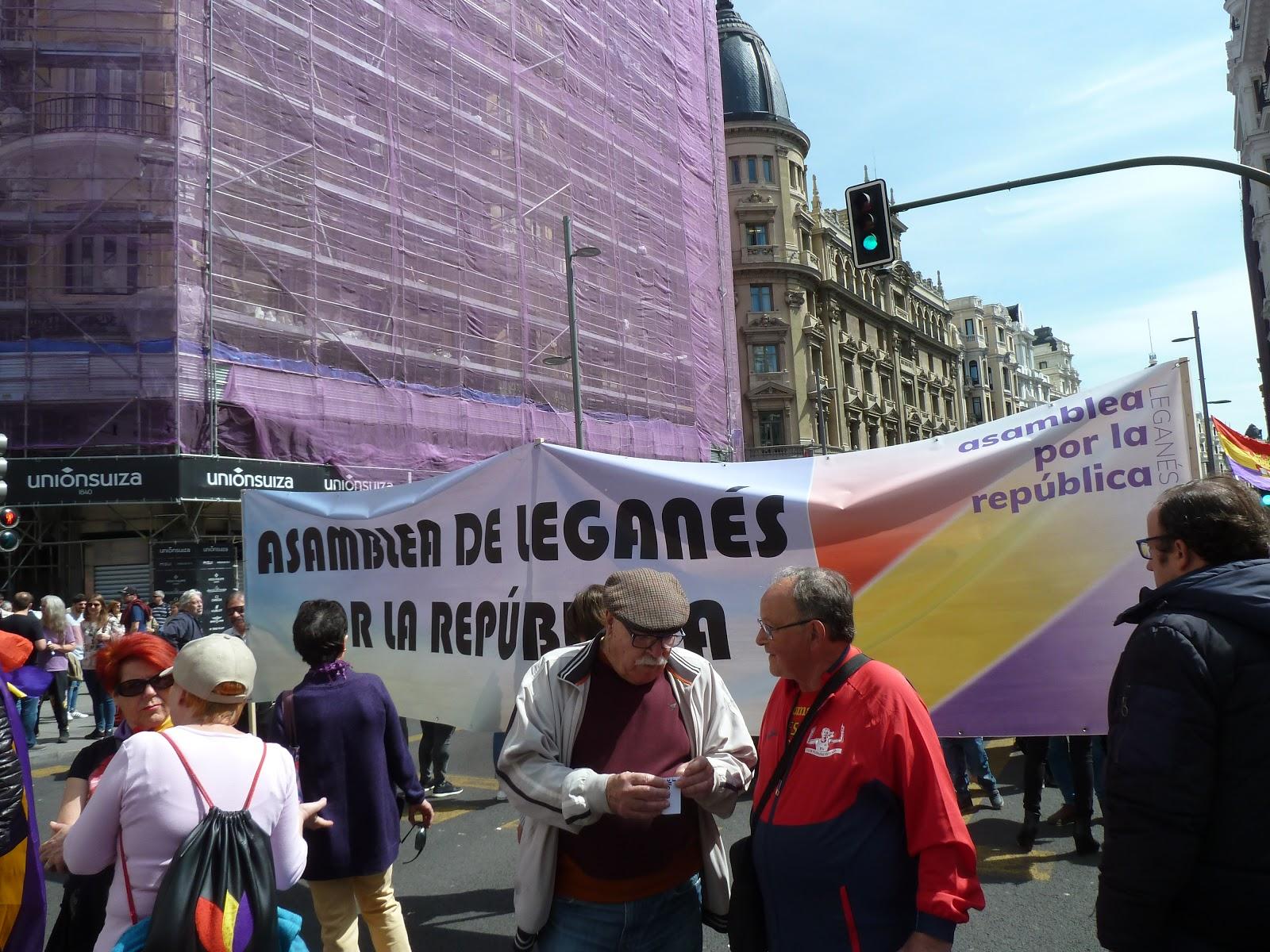 La Loc@: Crónica 14-A. Manif. por la República. Madrid: Gran Vía ...