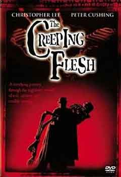 Portada DVD de The Creeping Flesh (El Esqueleto Prehistórico)