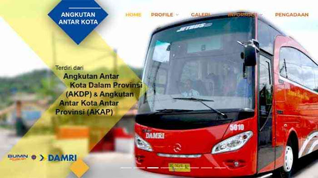 Harga Tiket Bus Damri Jakarta Wonosobo