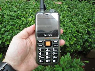 Hape Antik Aldo AL-007 Walkie Talkie Powerbank