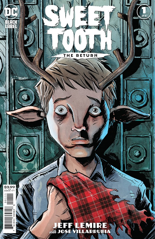 Cover of Sweet Tooth The Return #1 DC Black Label
