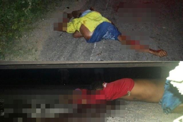 Irmãos são esmagados por ônibus em cidade da Paraíba; Eles retornavam de um jogo