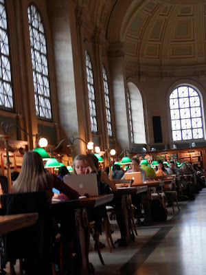 visite de la Boston Public Library