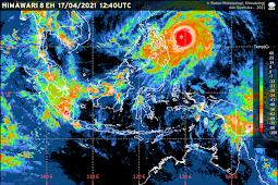 Siklon Tropis Surigae di Samudera Pasifik Utara Tidak Berdampak Pada Cuaca di Jabodetabek