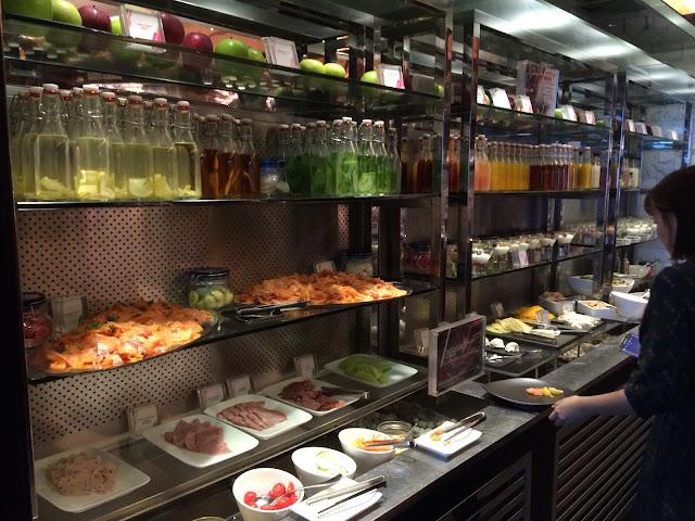 W Hong Kong Breakfast Buffet
