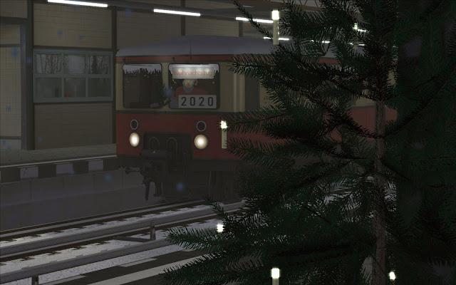 S25: Der Weihnachtszug