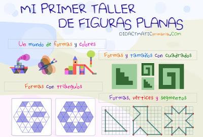 O MEU PRIMEIRO TALLER DE FIGURAS PLANAS