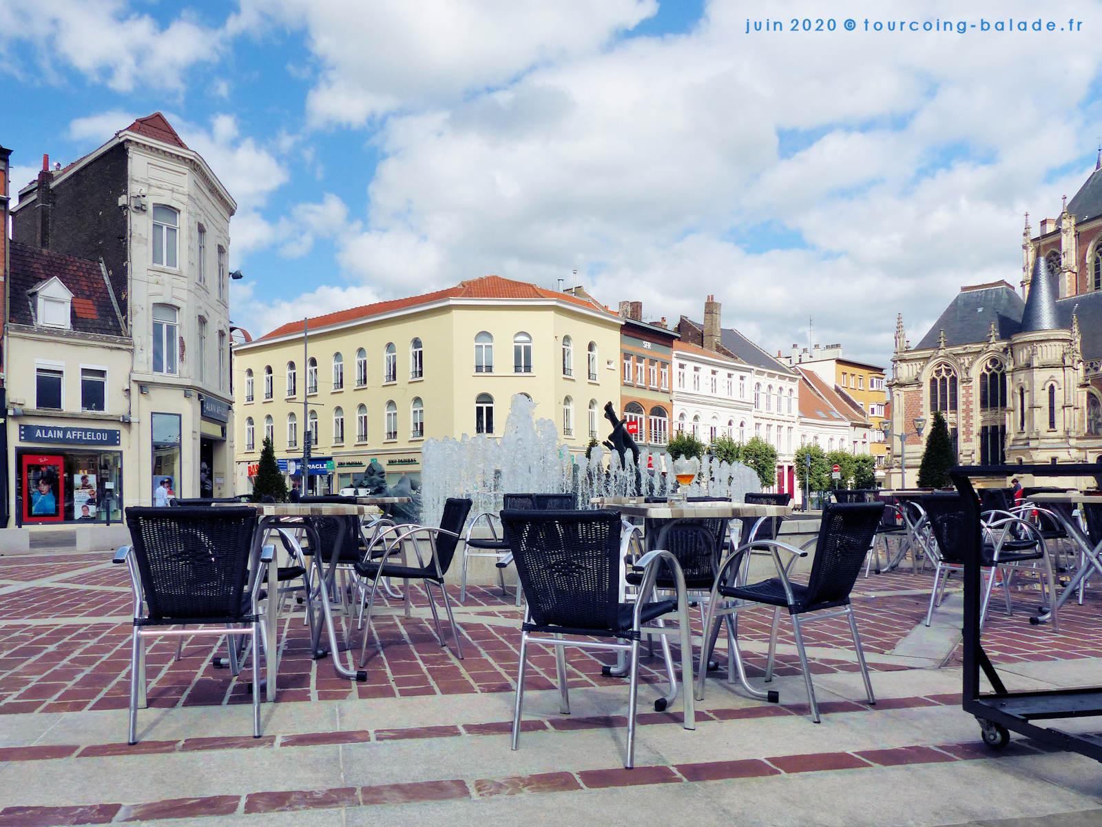 Bar Café L'Abbaye, Tourcoing Grand Place, 2020
