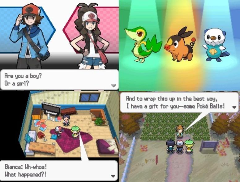 Pokémon Black White Início