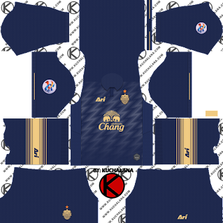 Buriram United 2019 ACL Kit - Dream League Soccer Kits