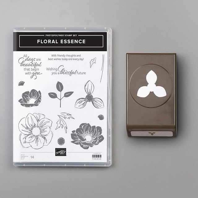 Craftyduckydoodah!, Floral Essence, Leaf Punch, Scripty Embossing Folder, Stampin' Up! Susan Simpson Independent Stampin' Up! Demonstrator, Supplies available 24/7 from my online store,