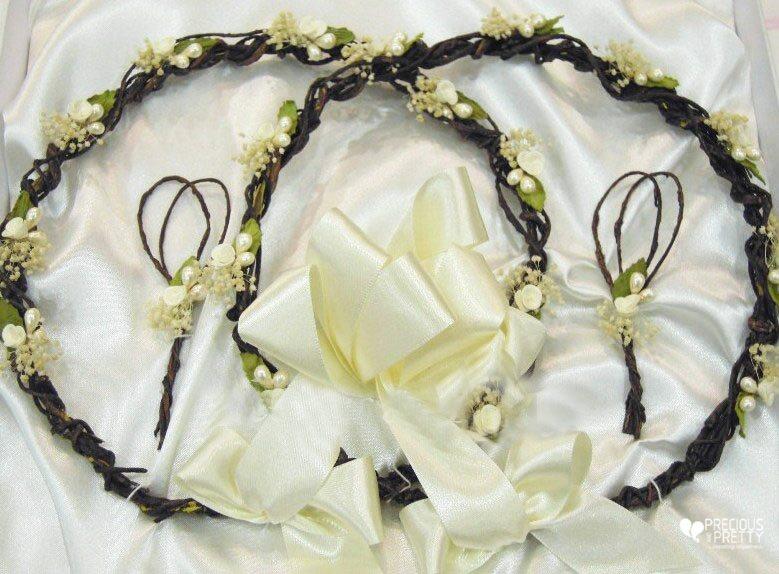 Wedding crowns stefana from Greece