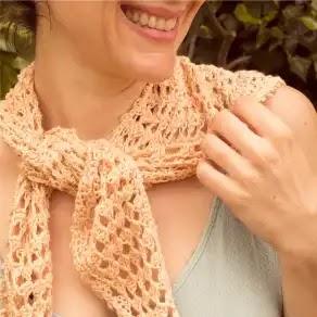 Bandana o Pañuelo a Crochet