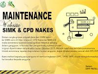 Maintenance Website SIMK & CPD NAKES