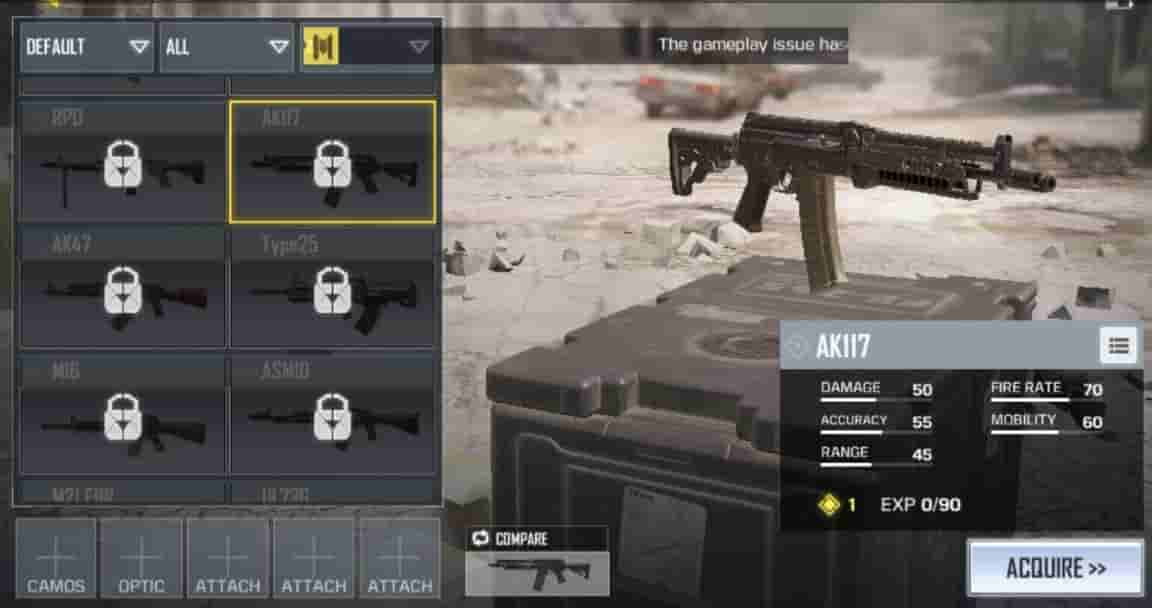 BEST GUNS IN CALL OF DUTY MOBILE FINALLY REVEALED - Shadow Knight Gaming |A  Gamer's Heaven
