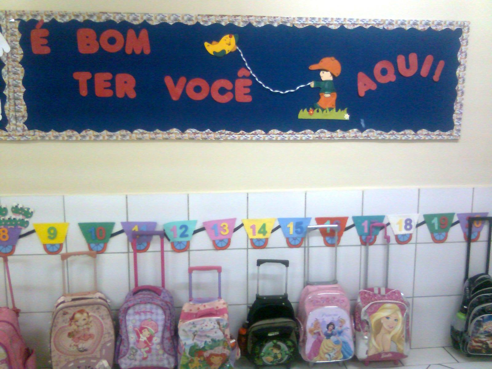 Painéis E Murais De Volta As Aulas Para Educação Infantil
