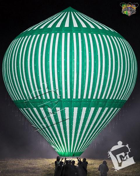 Hollywood Balão - Lapidado de 12 metros