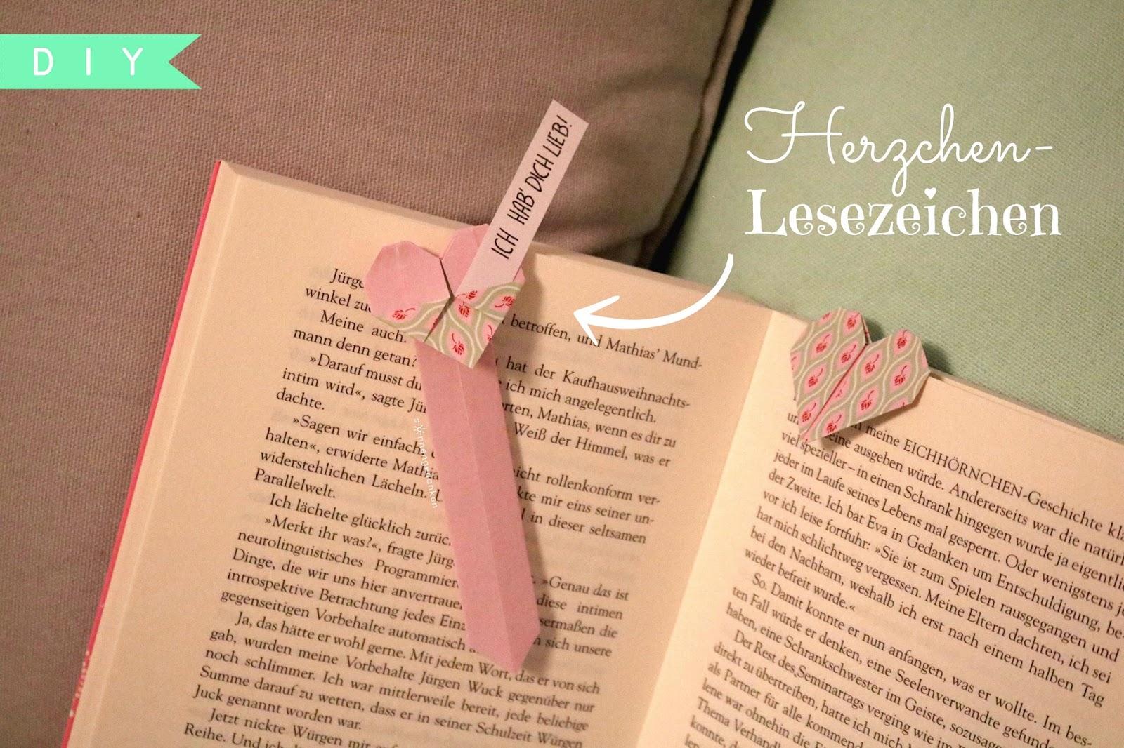 Lieben Gruß Zum Valentinstag : sonnengedanken diy lesezeichen zum valentinstag ~ Lizthompson.info Haus und Dekorationen