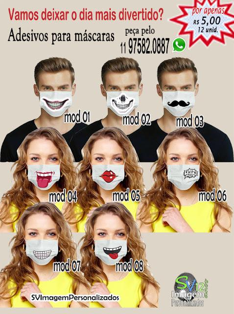 dicas e ideias para Máscara em Tecido para proteção adesivo para máscara