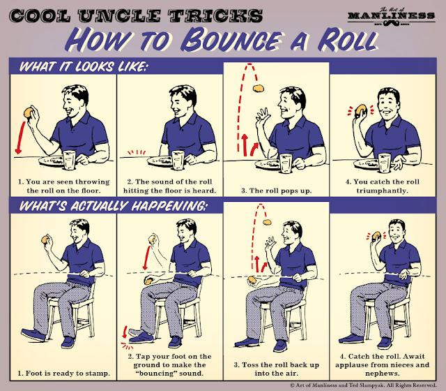 bounce a roll