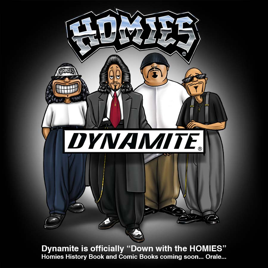 dynamite is down with the homies forces of geek