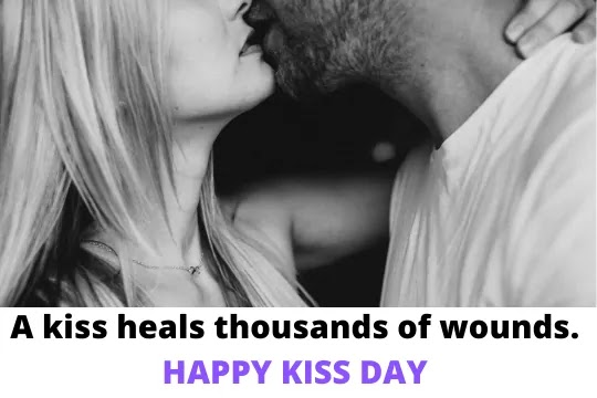 A kiss is a secret which takes the lips for the ear.Happy Kiss Day