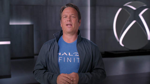 Phil Spencer Xbox Games Showcase July 2020 Halo Infinite shirt