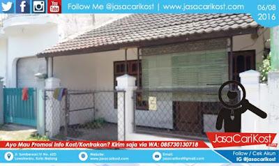 Rumah Kontrakan Landungsari #U39 Malang