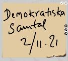 Demokratiska samtal 2/11-2021
