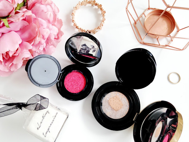 Lancome Ultra Cushion Foundation and Cushion Blush Subtil