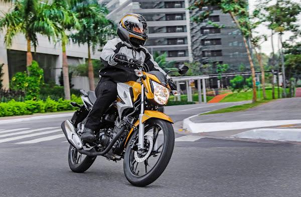 Honda CG 160 2022 - Titan em movimento