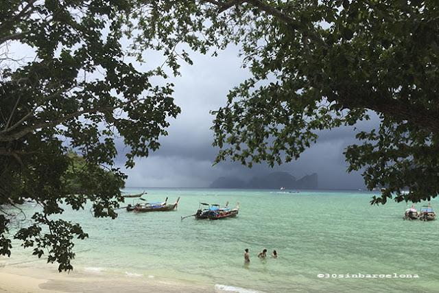 Storm in Ko Phi Phi, Thailand