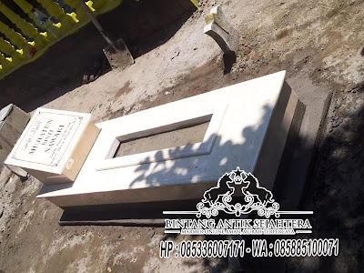 Kijing Marmer Tulungagung, Kijing Marmer, Model Makam Marmer