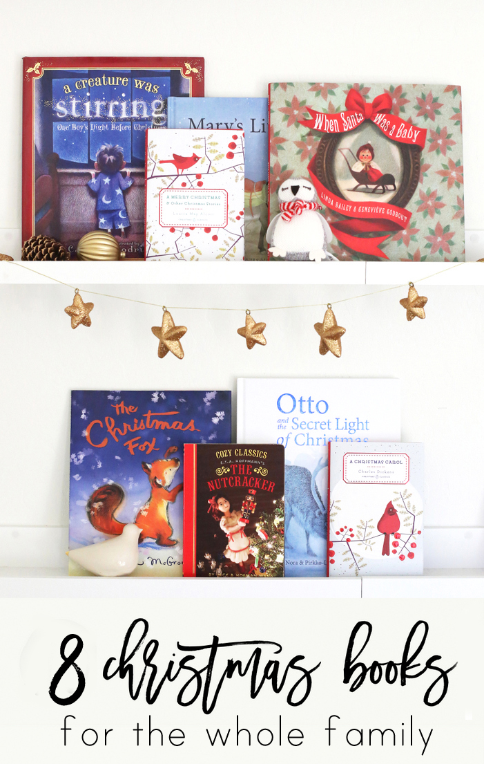 Eight new books to add to your Christmas rotation!