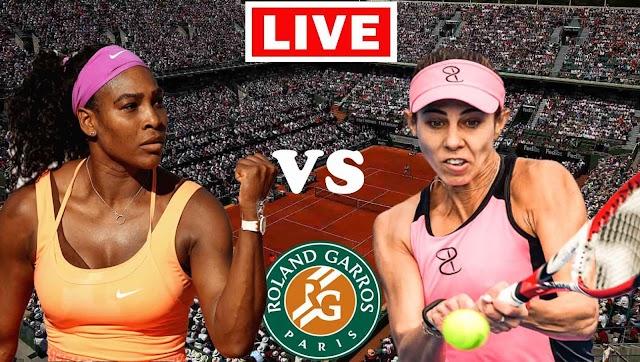 EN VIVO   Serena Williams vs. Mihaela Buzarnescu   Roland Garros 2021 WTA   Ver gratis el partido de tenis en Tv