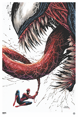 Venom & Carnage Fine Art Prints by Tyler Kirkham x Grey Matter Art x Marvel Comics