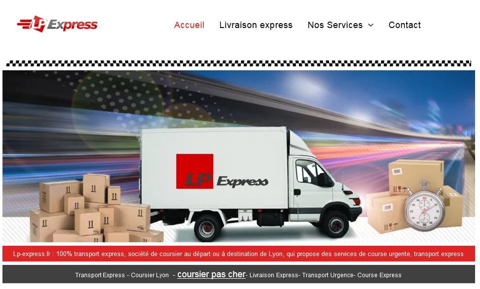 Coursier Lyon et transport express