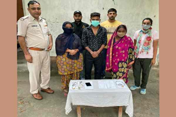 faridabad-crime-branch-65-arrested-three-chor-including-2-women
