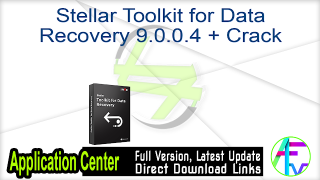 Stellar Toolkit for Data Recovery 9.0.0.4 + Crack