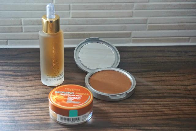 face tanning bronzing pale skin