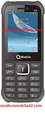 qmobile g6 spd flash file